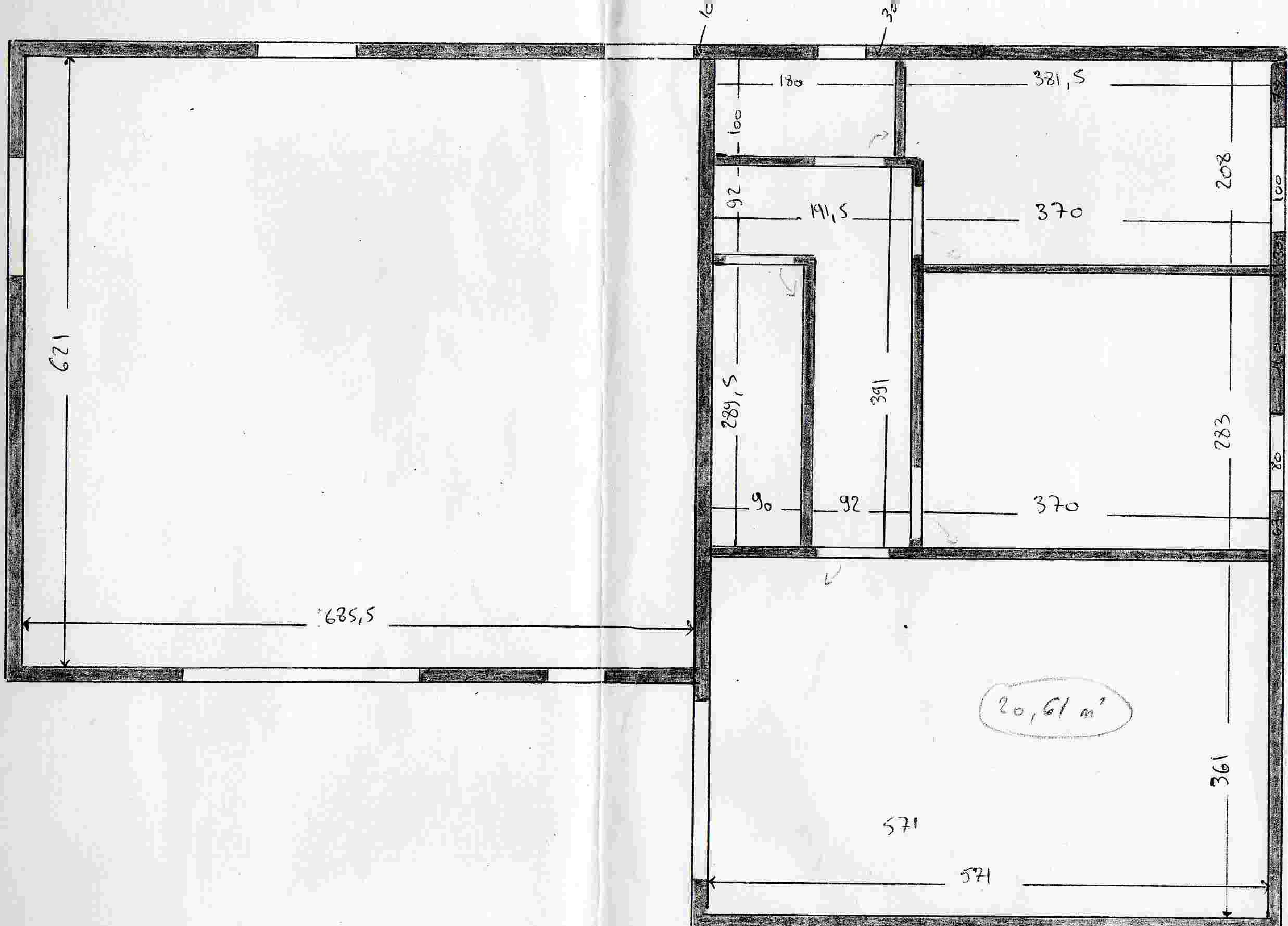 Le plan de la maison notre aventure ou comment on a for Le plan de la maison